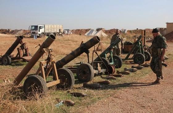 IS buôn bán vũ khí tại Iraq ảnh 1