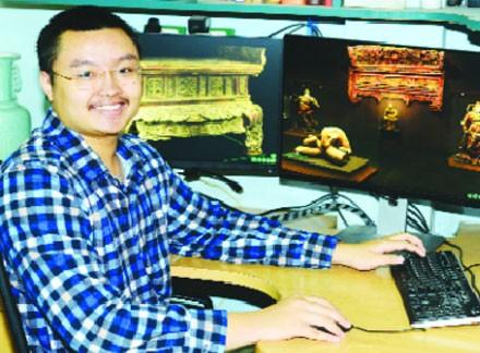 Người lập bảo tàng 3D online lưu trữ cổ vật ảnh 1