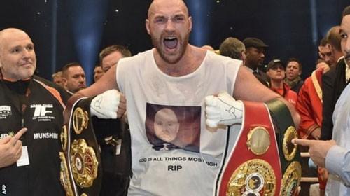 Tyson Fury bị người hâm mộ Anh tẩy chay ảnh 1