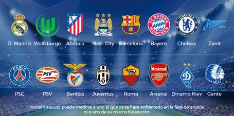 16 đội vào vòng knock-out Champions League ảnh 1