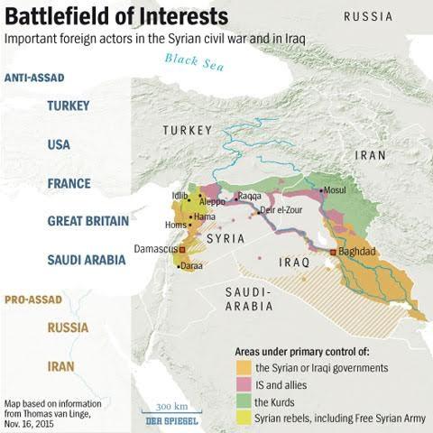 Syria đắc lợi khi phương Tây đánh IS? ảnh 1