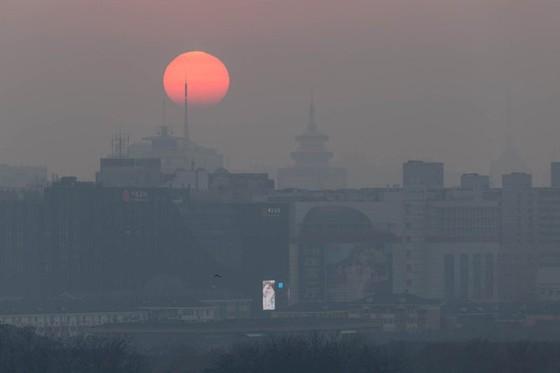 Bắc Kinh lại cảnh báo đỏ ô nhiễm ảnh 1