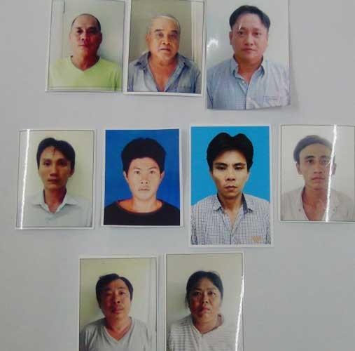 Tạm giam 8 đối tượng cướp tiền trên xe khách ảnh 1