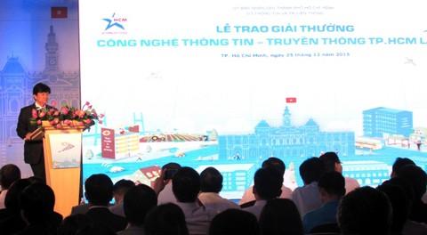 Trao giải thưởng CNTT-TT TPHCM lần thứ VII ảnh 1