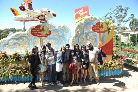 Vietjet đồng hành Festival Hoa Đà Lạt ảnh 1