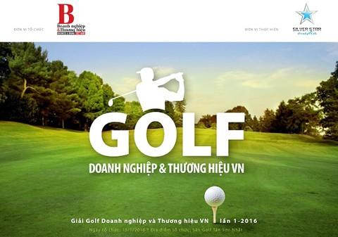 Khởi động giải Golf Doanh nghiệp 2016 ảnh 1