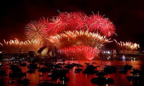 Châu Á rực sáng pháo hoa chào năm mới 2016 ảnh 7