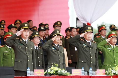 Xuất quân bảo vệ Đại hội Đảng toàn quốc lần thứ XII ảnh 1