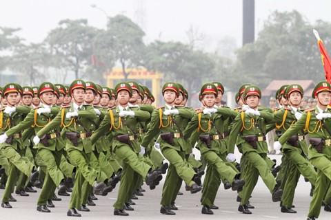 Xuất quân bảo vệ Đại hội Đảng toàn quốc lần thứ XII ảnh 4