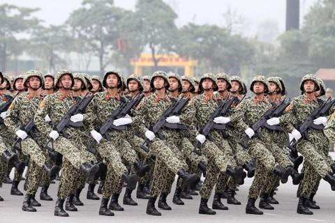 Xuất quân bảo vệ Đại hội Đảng toàn quốc lần thứ XII ảnh 5