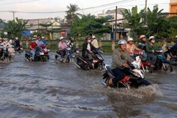 Quản lý rủi ro ngập nước khu vực TPHCM ảnh 1