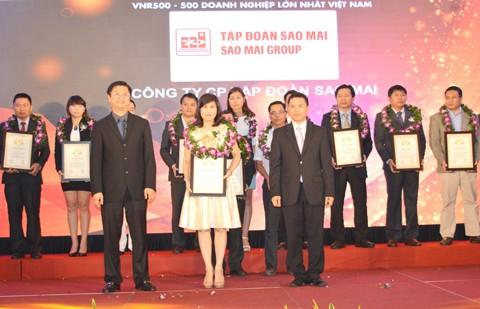 Sao Mai Group vinh danh xếp hạng VNR 500 ảnh 1
