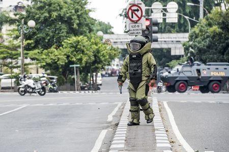 IS nhận trách nhiệm tấn công Jakarta ảnh 1