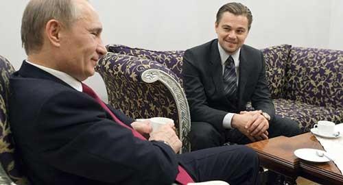 Leonardo DiCaprio muốn đóng vai TT Nga ảnh 1