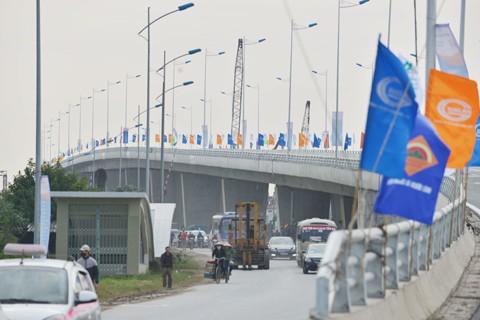 Thông xe cầu vượt lớn nhất Thủ đô ảnh 1
