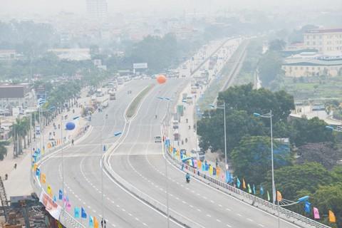 Thông xe cầu vượt lớn nhất Thủ đô ảnh 2