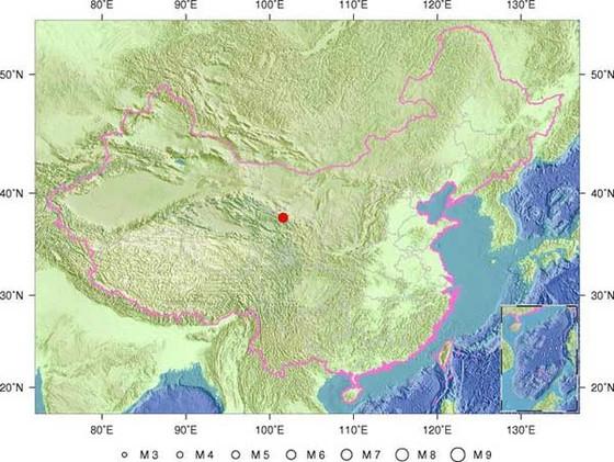Động đất 6,4 độ Richter ở miền Bắc Trung Quốc ảnh 1