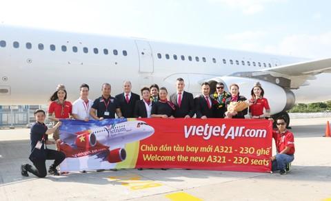 Vietjet đón tàu bay A321 ảnh 1