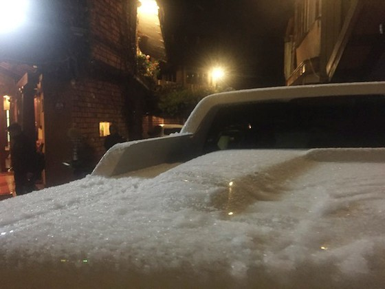 Hà Nội có tuyết rơi ảnh 1
