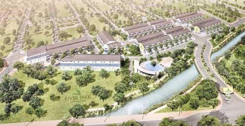 Khu nhà phố liên kế ven sông River Park ảnh 1