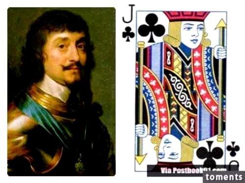 Nhân vật bí ẩn sau quân bài J, Q, K ảnh 9