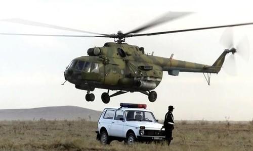 Trực thăng quân sự Nga rơi, 4 binh sĩ thiệt mạng ảnh 1