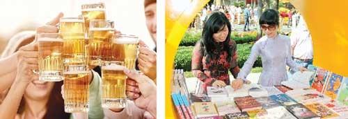 Bớt rượu bia, năng đọc sách ảnh 1