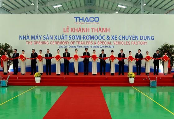 THACO khánh thành nhà máy xe chuyên dụng hạng nặng ảnh 1