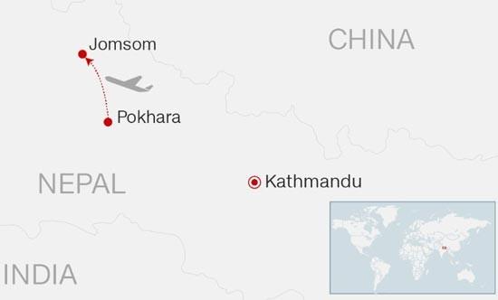Máy bay rơi ở Nepal, 21 người có thể đã chết ảnh 1