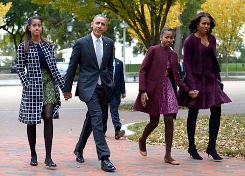 Tổng thống Mỹ làm bố như thế nào? ảnh 1
