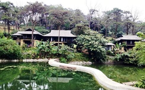 Đình chỉ resort không phép tại Vườn Ba Vì ảnh 1