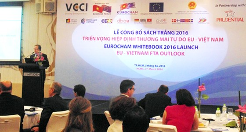 EuroCham công bố sách trắng thương mại, đầu tư ảnh 1
