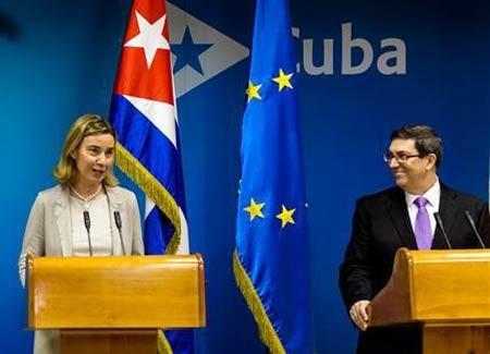 Cuba-EU ký thỏa thuận bình thường hóa ảnh 1
