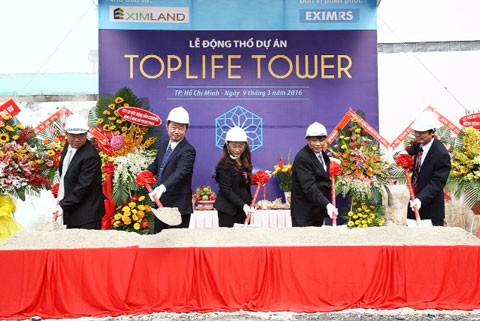 Ra mắt dự án cao cấp TopLife Tower ảnh 1