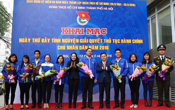Thứ bảy tình nguyện giải quyết TTHC ảnh 1
