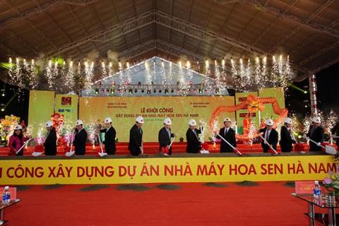 Hoa Sen: 3.000 tỷ đồng xây dựng nhà máy Hà Nam ảnh 1