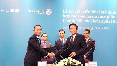 Viet Capital Bank hợp tác cùng Chubb Life ảnh 1