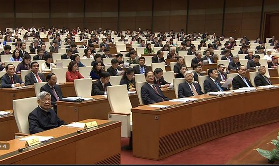 Khai mạc kỳ họp thứ 11, Quốc hội Khóa XIII ảnh 1
