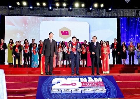 VietBank nhận giải Thương hiệu mạnh Việt Nam ảnh 1