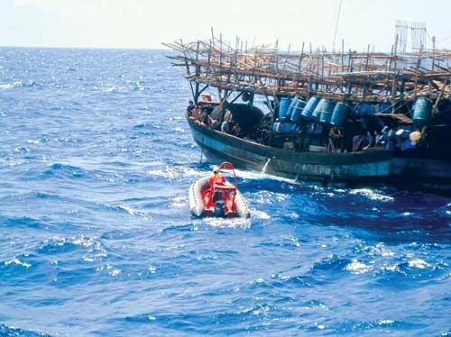 Biệt đội cứu ngư dân ảnh 1