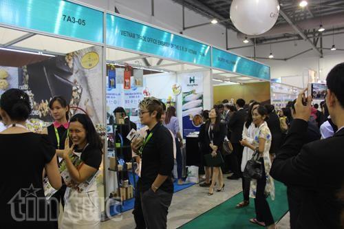 DN quảng bá tại hội chợ thực phẩm châu Á ảnh 1