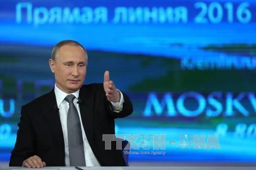 Tổng thống Nga trả lời 80 câu hỏi giao lưu trực tuyến ảnh 1