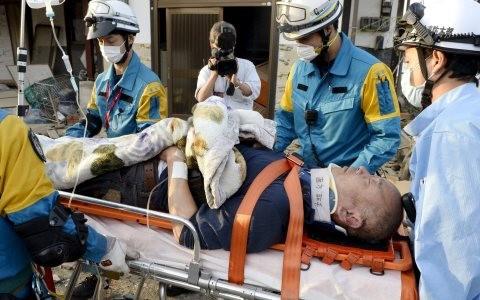Động đất Nhật Bản: Số người thiệt mạng đến 19 ảnh 1