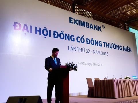 Eximbank sẽ tiến hành ĐHCĐ 2016 lần 2 ảnh 1