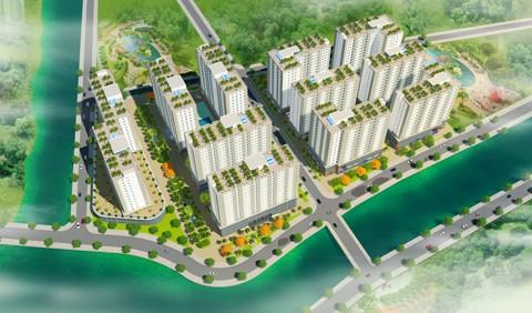 Khởi công dự án nhà ở xã hội HQC Tây Ninh ảnh 1