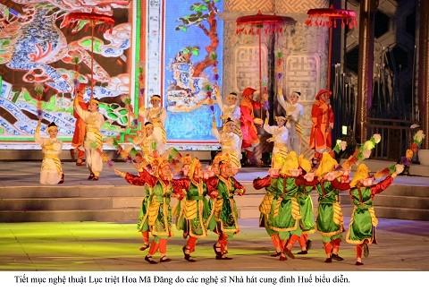 Lộng lẫy đêm khai mạc Festival Huế 2016 ảnh 4