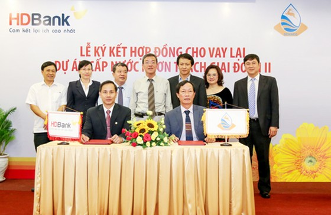 HDBank cho vay lại gần 3.000 tỷ đồng vốn ODA ảnh 1