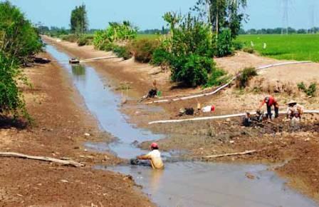 ĐBSCL: Nguồn nước sạch dần cạn kiệt ảnh 1