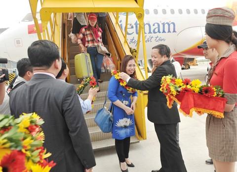 Vietjet khai trương 3 đường bay mừng khánh thành nhà ga Cát Bi ảnh 3