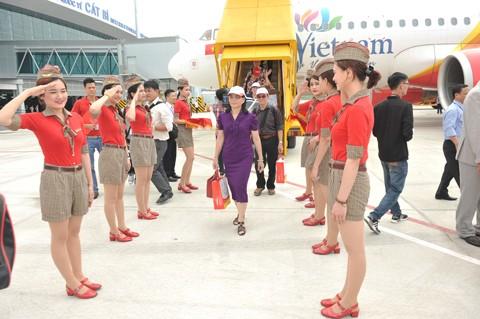 Vietjet khai trương 3 đường bay mừng khánh thành nhà ga Cát Bi ảnh 2